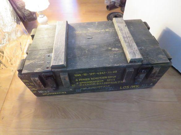 Старвоененсандъкза 6 противопехотни скачащи мини DM 31 произведен