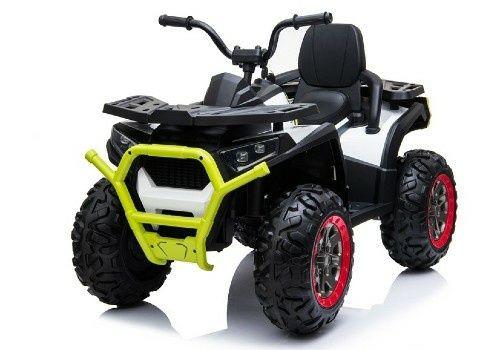 ATV Electric 4×4 Deluxe Premium Desert 4 Motoare 12V, Roti cauciuc EVA