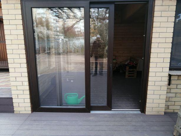 Окна Двери Витражи Пластик Алюминий Раздвижные Панорамные Гарантия!