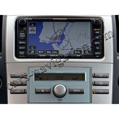 Toyota Lexus диск за навигация България Тойота и Лексус карти дискове
