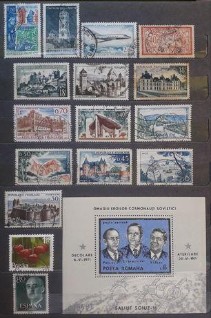 Clasor cu 258 de timbre filatelice