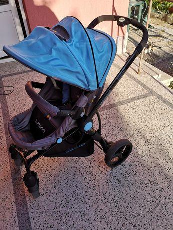 Бебешка количка с кошче за кола