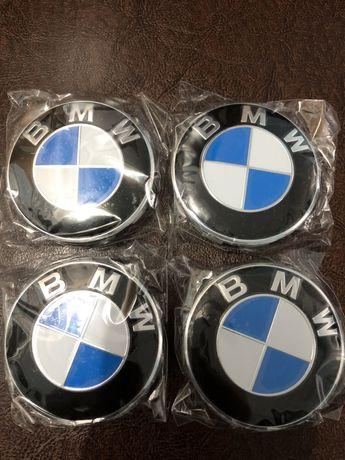Set 4 capace roti, jante aliaj BMW Originale diametru 68 mm NOI