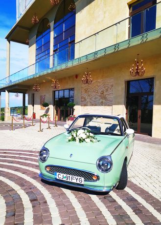 Mașina nunta Vintage epoca
