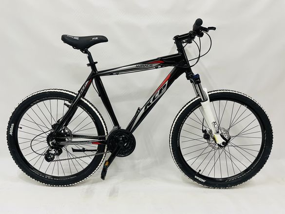 """НОВ Немски Алуминиев велосипед колело Mirage 26"""" две дискови спирачки"""