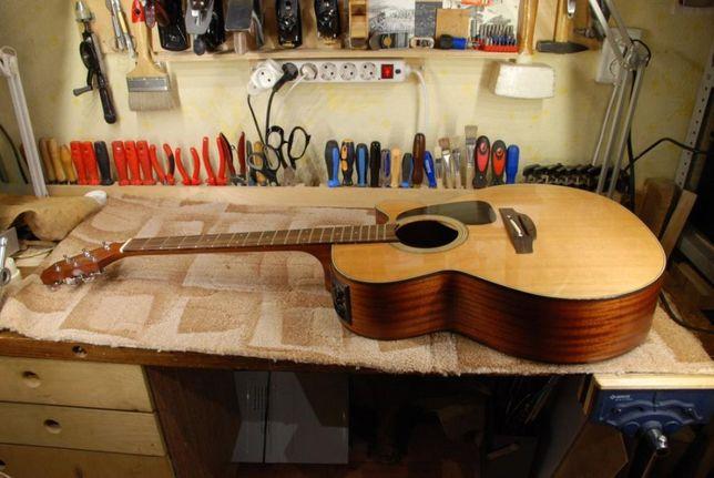 Ремонт и отстройка всех видов гитар
