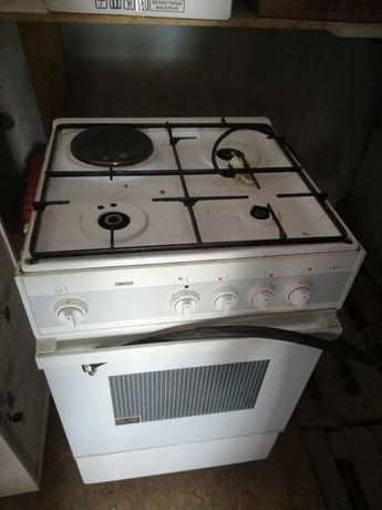 Газ плита Zanussi комбинированная