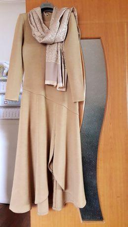 Платье натуральное трикотажное 20000 для модниц 46- 48 размер