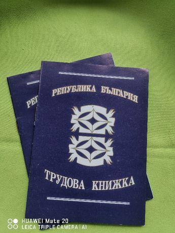 трудови книжки сини