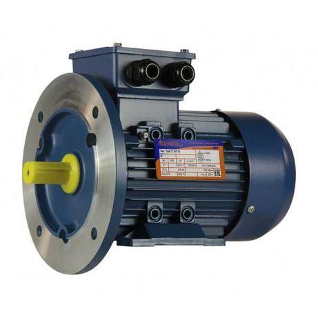 Электродвигатель (фланец, лапы) АИР 0,55кВт 220-380В