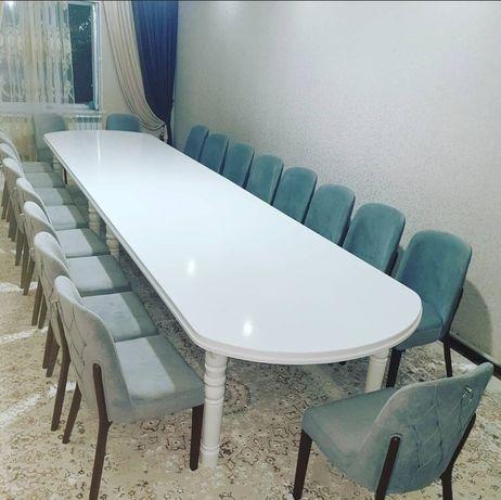 Столы и стулья гостиная и кухонная