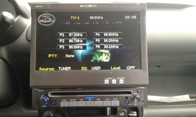 DVD, player auto.