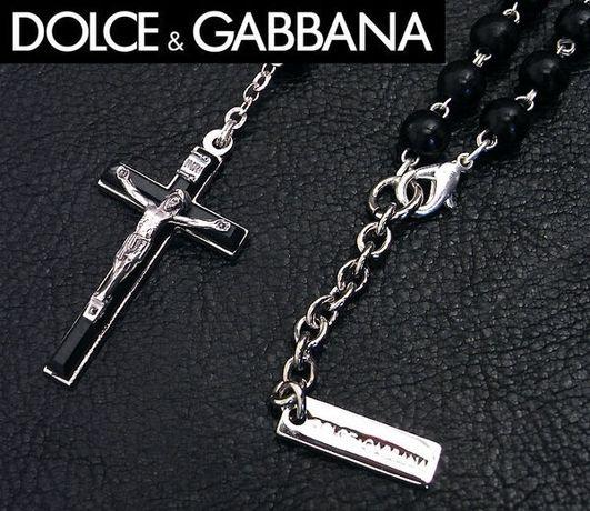 Rosary bărbătesti argint Dolce & Gabana.pietre de onix. CADOUL PERFECT