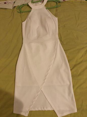 НАМАЛЕНА ЦЕНА - Официална бяла рокля