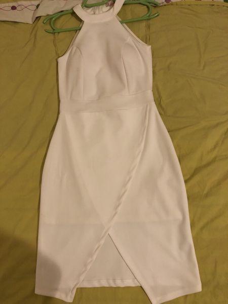 НАМАЛЕНА ЦЕНА - Официална бяла рокля с. Драгоданово - image 1