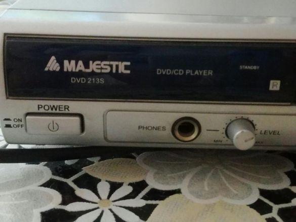 DVD/CD player mp3 Majestic