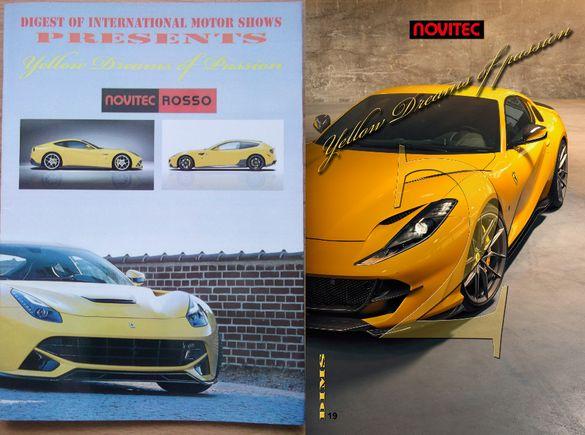 Книги списания брошури автокаталози за Novitec Ferrari 812 FF 458 43