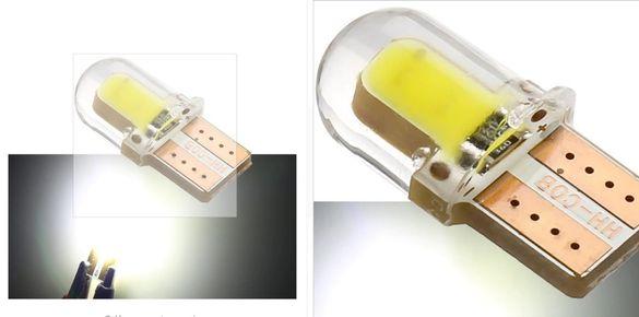 LED Диодни крушки T10 W5W за купе, номера, габарит ...