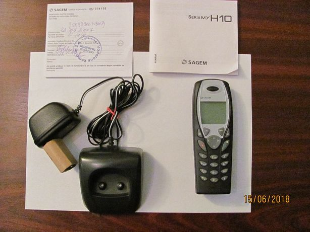 Mobil telefon vechi functional ca nou SAGEM H10 fabricat China