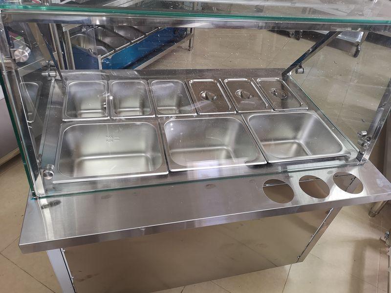 Бен Мари Топла витрина комбинирана с водна баня и зона за готвене гр. Пловдив - image 1