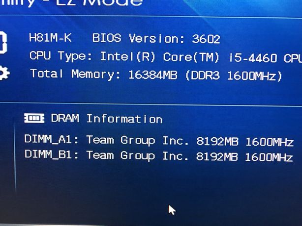 Team Group ddr3 16gb 1600Mhz