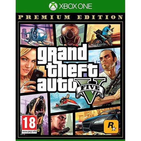 Joc Grand Theft Auto V GTA 5 Premium Edition Xbox One Nou Sigilat