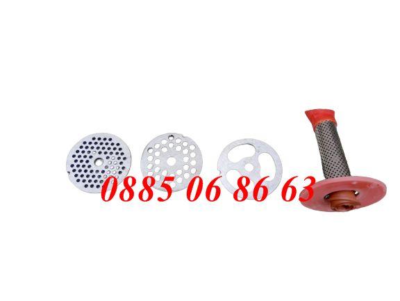 Приставки за месомелачки, решетки 4мм, 6мм, 8мм, 10мм, решетка бъбрек