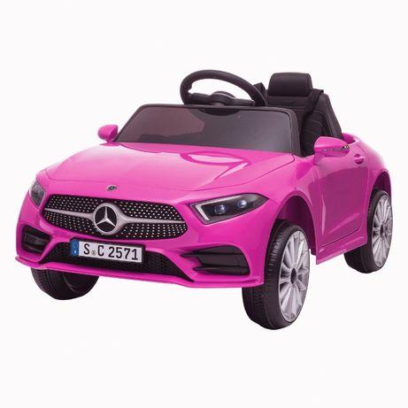 Masinuta electrica Kinderauto Mercedes CLS350 50W 12V PREMIUM #Roz