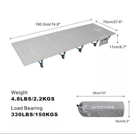 Продам походную раскладушку 2.2 кг новую фирменную