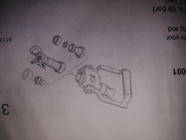 Chit reparație pistol glet
