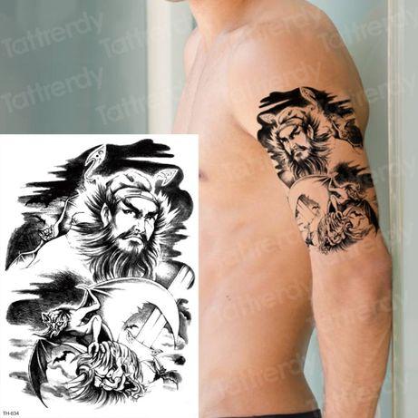 Татуировки, татуси, временни татуировки, водоустоичви татуировки
