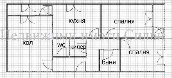 Тристаен тухлен апартамент-кв.Добруджански