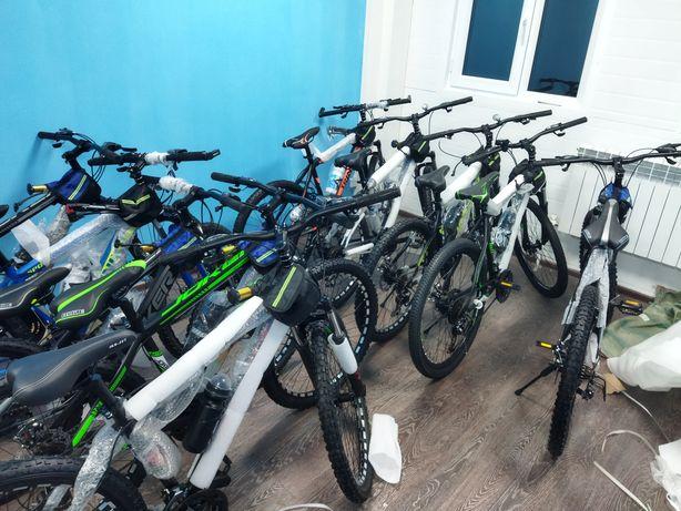 Зборка велосипедов, велосипед құрастыру
