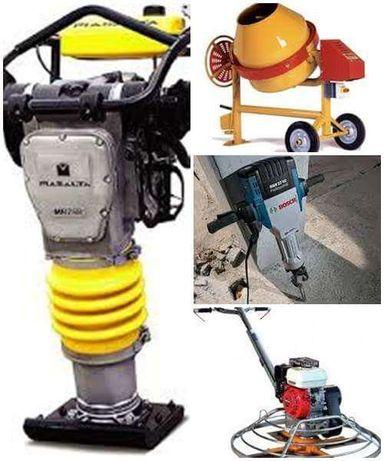 Inchiriez mai compactor,picamer,elicopter,vibrator,placa,rigla,picamar
