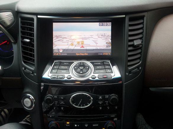 Nissan/Infiniti Connect Premium X9 Europe 2021 Update Диск Навигация