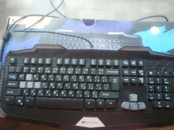 Геймърска клавиатура CANYON