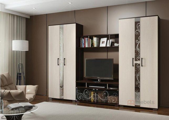 Комплект для гостинной БТС Мебель Флоренция 1 венге