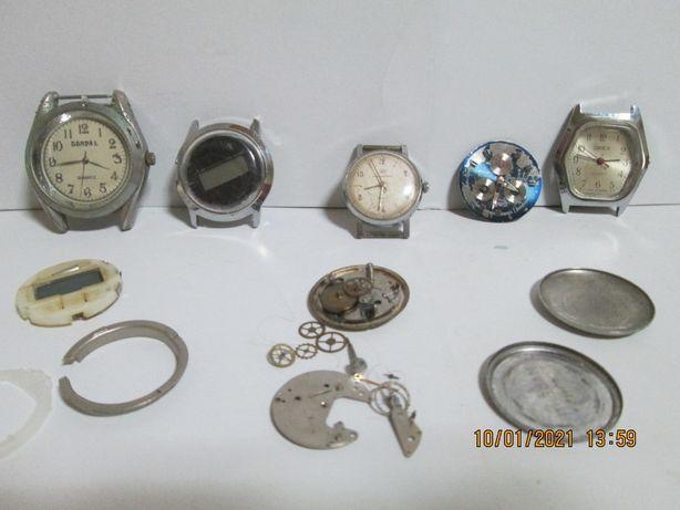 Ceasuri si fragmente de ceasuri - nefunctionale - (Pret de amator)