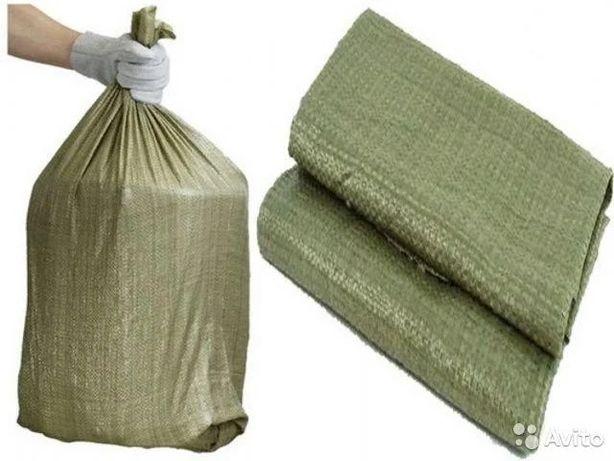 Мешки под строительный мусор зеленого цвета