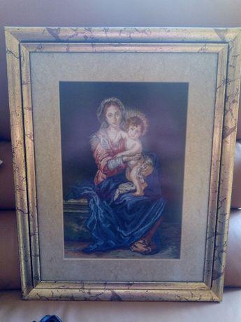 Продавам ушити и луксозно рамкирани гоблени и картини