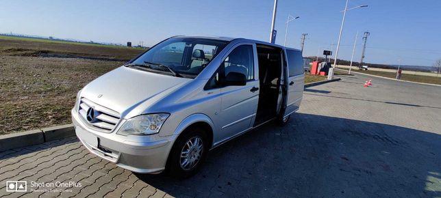 Inchiriere microbuz rent a car Mercedes Vito 8+1 locuri