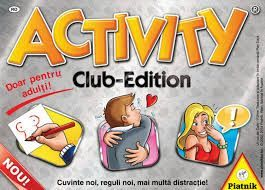 Joc de societate Activity Club Edition, nou, sigilat