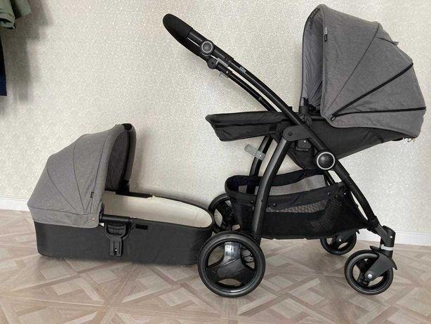 Коляска 2в1 CBX by Cybex Leotie Pure Comfy Grey