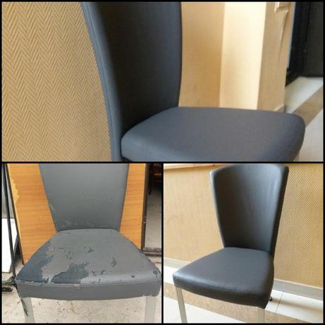 Перетяжка и реставрация стульев!Качественно и аккуратно! Наталья