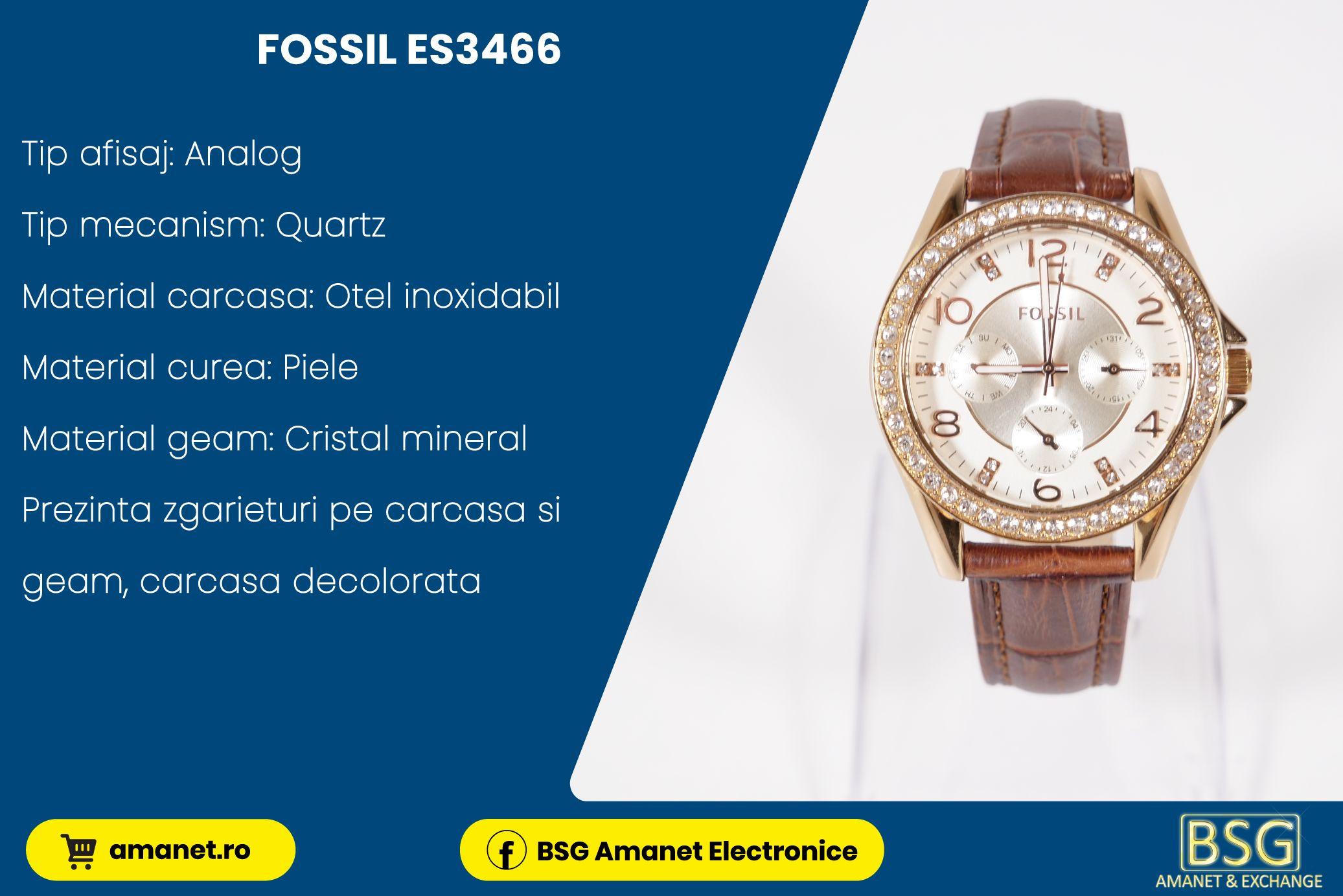 Ceas Fossil ES3466 - BSG Amanet & Exchange