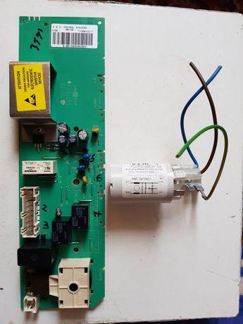 Placa de baza si condensator masina de spalat Maxwell 6810Q