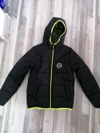 Jachetă pentru copii cu două fețe.