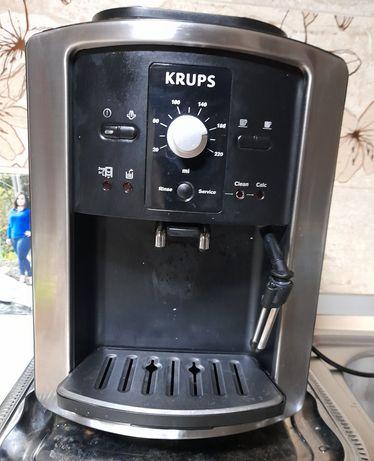 Expresor krups cu râșniță  de măcinat cafeaua boabe