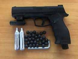 Pistol Airsoft Bile de CAUCIUC Cal.50 20 jouli HDP50 => OKAZIE