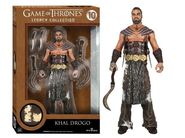 Figurina Khal Drogo - Game of Thrones
